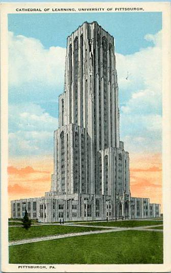 PA - Pittsburgh, Cathedral of Learning, University of Pittsburgh