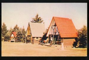 Santa's Village Postcard, Post Office/Home, Jefferson, NH
