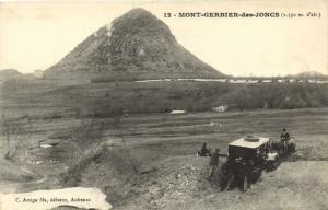 CPA Mont-Gerbier-des-Joncs (Dep.07) 1550m. d'alt (2729)