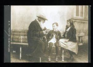 135092 Leo TOLSTOY Russia WRITER & Grandchildren Vintage PHOTO