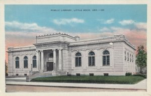 LITTLE ROCK, Arkansas, 1910s ; Public Library