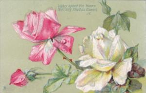 Flowers Beautiful Roses Tucks Art Series