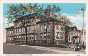 BROCKTON, Massachusetts; Sprague School, 10-20s