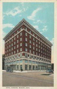 MARION , Ohio , 1910-30s ; Hotel Harding