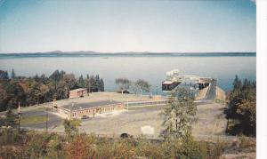 Bar Harbor Teminal of Ferry BLUENOSE , Maine  , 50-60s