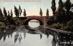 Boylston Street Bridge Boston, Massachusetts Postcard