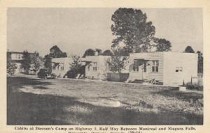 DESERONTO, Ontario , Canada , 1930-50s; Dawson's Camp Cabins