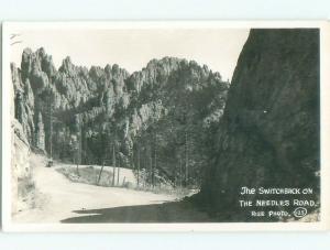 Pre-1942 rppc NICE VIEW Black Hills - Near Rapid City South Dakota SD i6030