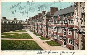 Philadelphia~Detroit Publishing #8184 University Triangle~1906 Glenna Liz Howe