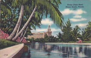 Roney Plaza Hotel, Miami Beach, Florida, 30-40s
