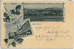 VINTAGE POSTCARD:  CZECH REPUBLIC - Krnov Jägerndorf 1898