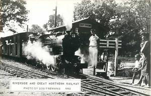 RPPC of Riverside & Great Northern Railway Wisconsin Dells WI