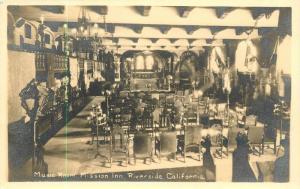 Musik Zimmer (Innenraum) Aufgabe inn Riverside Kan. Echt Foto Postkarte