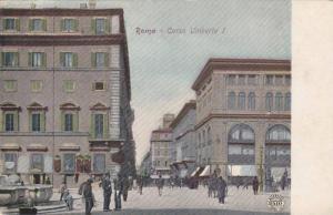 ROMA, Corso Umberto I, Lazio, Italy, 10-20s