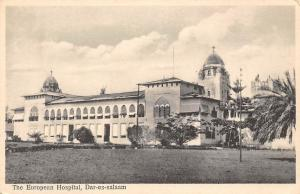 German East Africa Tanzania Dar-es-salaam, The European Hospital