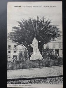 Old PC - Portugal - LISBOA (Lisbon) - Monumento a Eca de Queiroz