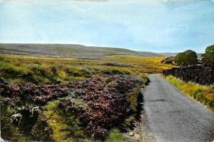 Road to Bronte Falls and Wuthering Heights near Haworth