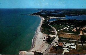 Florida Venice Aerial View Of Venice Beach