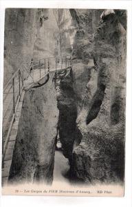 FIER, Albania, 1900-1910's; Les Gorges Du Fier, Environs D'Annecy