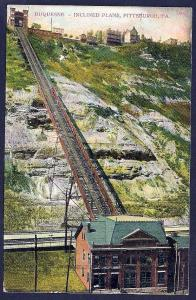 Duquesne Inclined Plane Pittsburgh Pennsylvania used c1908