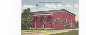 PHILLIPSBURG , New Jersey , 1930-40s; United States Post Office