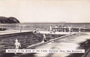 RP: Brine Swimming Pool , Fundy National Park , New Brunswick , Canada , 1930s