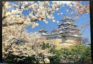 Himeji Castle Japan Vintage Postcard