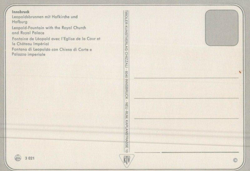 Innsbruck Vintage Postcard