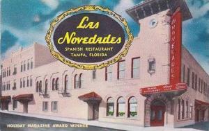 Florida Tampa Las Novedades Spanish Restaurant 1959