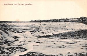 Switzerland Old Vintage Antique Post Card Konstanza von Norden Gesehen Unused