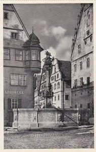 St. Georgs- Brunnen, Rothenburg o. T. (Bavaria), Germany, 1900-1910s