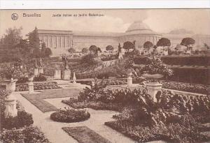 Belgium Brussels Jardin Italien au jardin Botanique