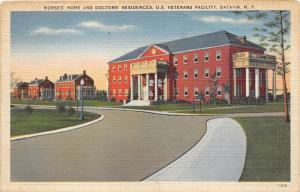 Batavia New York~US Veterans Facility-Nurses' Home & Doctors' Residences~1940s