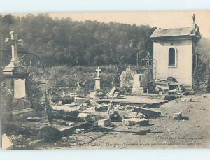 1914 CEMETERY GRAVEYARD Longwy In Meurthe-Et-Moselle Department France F5370