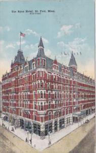 Minnesota St Paul The Ryan Hotel 1917