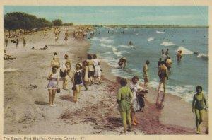 PORT STANLEY, Ontario, Canada, PU-1950; The Beach