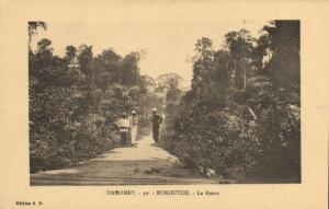 CPA Dahomey Afrique - Bokoutou - La Route (86816)