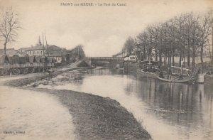 PAGNY sur MEUSE , France , 00-10s ; Le Port du Canal