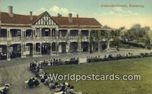 Kimberley Germany, Deutschland Postcard Alexandersfontein Kimberley Alexander...