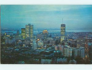Pre-1980 TOWN VIEW SCENE Montreal Quebec QC p9443