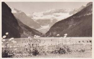 RP, Beautiful Scene At Lake Louise, Alberta, Canada, 1920-1940s