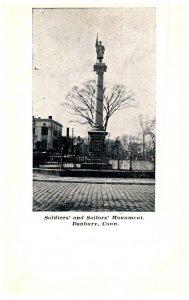 Connecticut Danbury , Soldier's and Sailor's Monument
