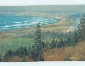 Unused Pre-1980 PANORAMIC VIEW Crescent City - Near Klamath California CA F8839