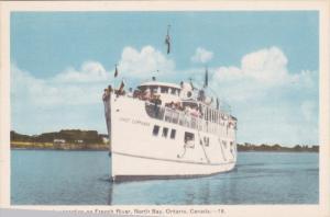 Steamer Chief Commanda , French River , NORTH BAY , Ontario , Canada , 1930s