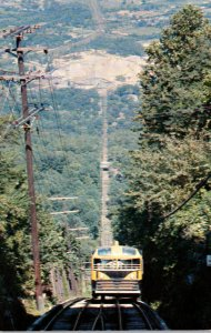 Tennessee Chattanooga Looking Down The Incline Lookout Mountain