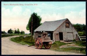 Basil's Blacksmith Shop,Grand Pre,Nova Scotia,Canada