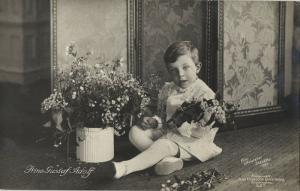 Prince Gustaf Adolf, Duke of Västerbotten (1910) Swedish Royalty RPPC Postcard