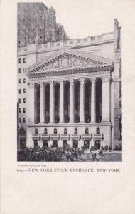 New Stock Exchange NYC, New York City UDB - Blanchard Press