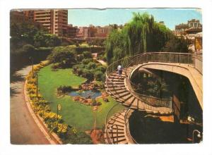 Johannesburg , South Africa , Spiral staircase at station gardens , 50-70s