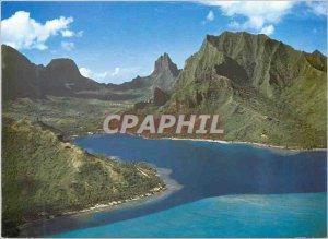Modern Postcard Moorea Cooks Bay The Eighth Wonder of the World